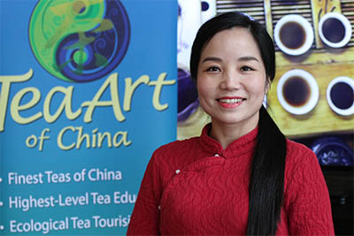 Tea Art of China founder Yin Na